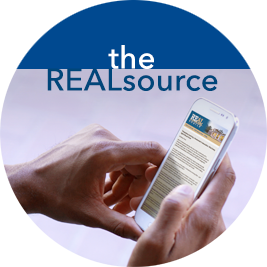Link to the REALsource page - newsletter for realtors
